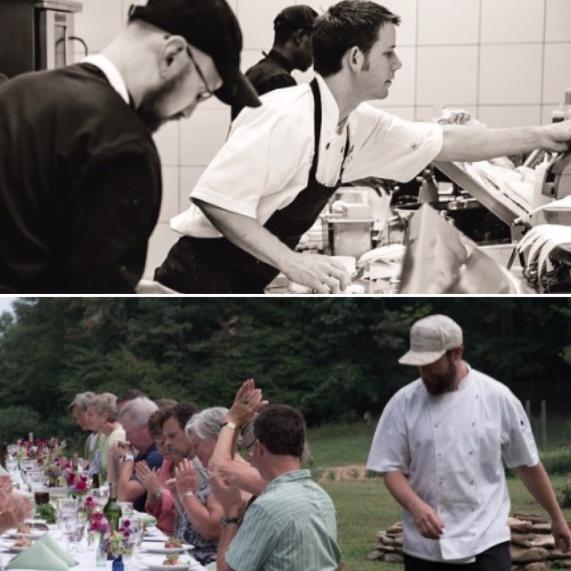 Chef John Bobby Chef Harrison Littell