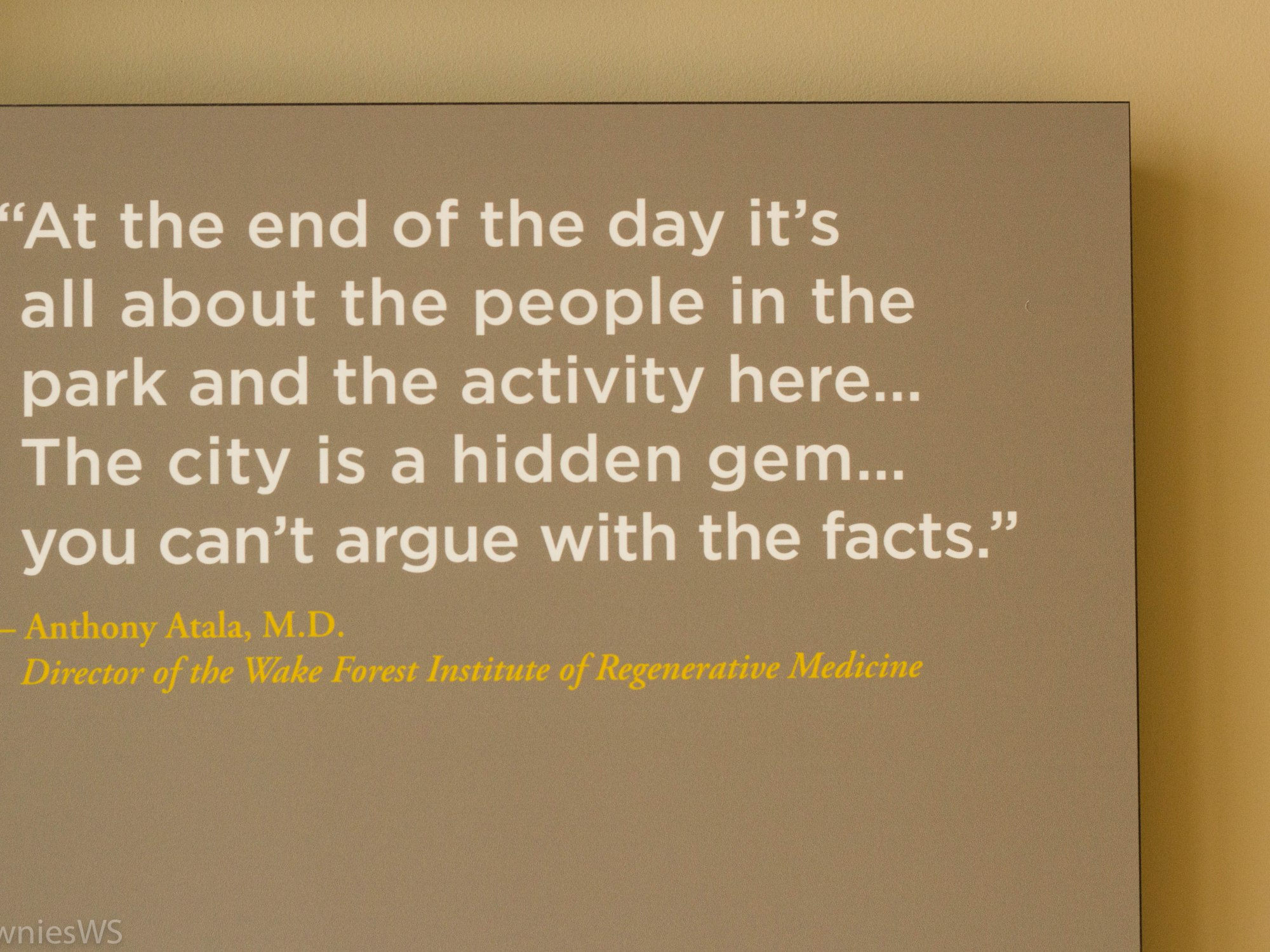 Dr. Anthony Atala, Winston-Salem, TowniesWS.com