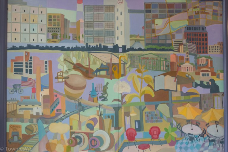 Nick Bragg Painting_Wake Forest Innovation Quarter _ TowniesWS.com