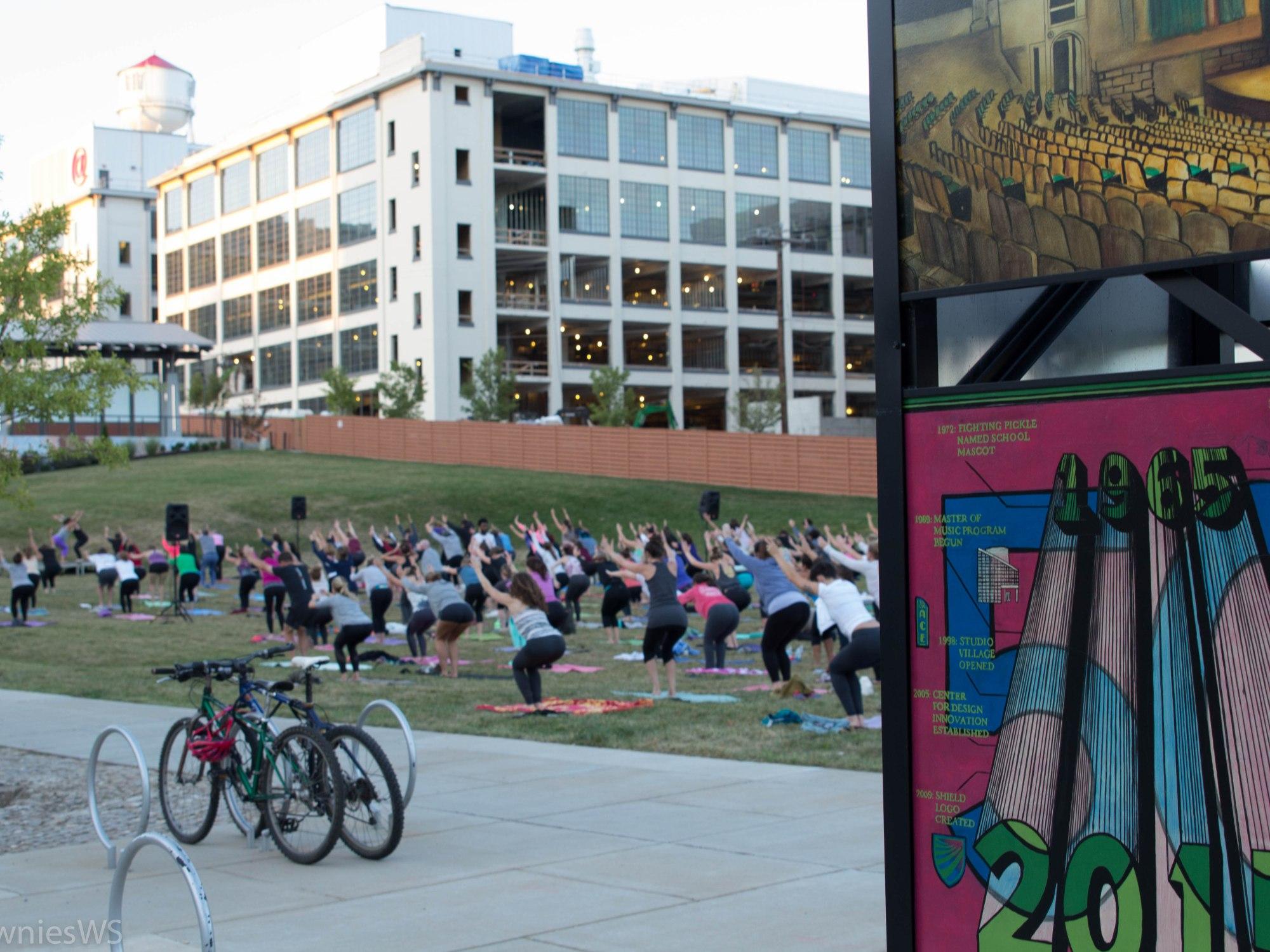 Yoga at Bailey Park Winston-Salem