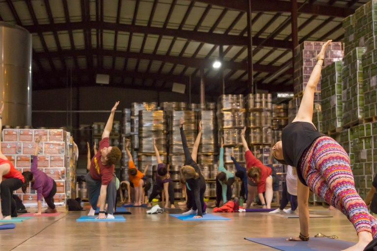 Bend n Brew Yoga Winston-Salem