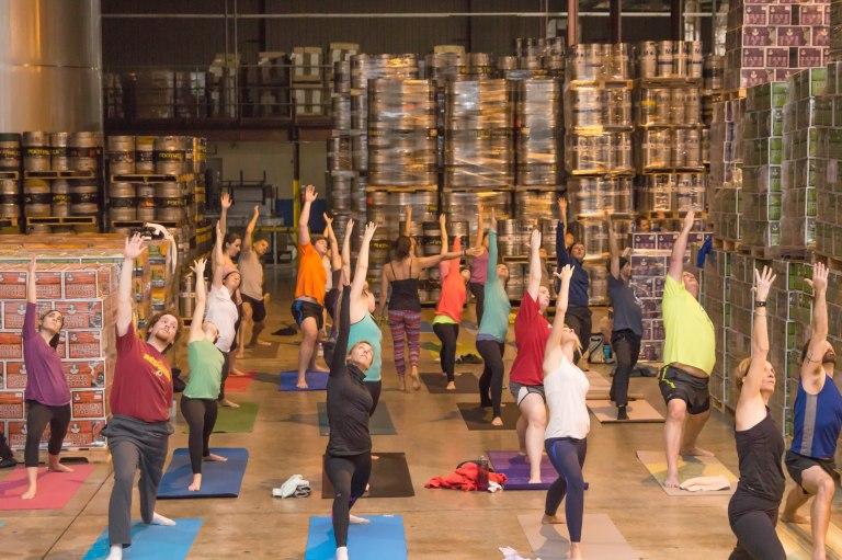 Meet Deanna Dzybon - founder of Rock Water Yoga and Yoga(mmunity)