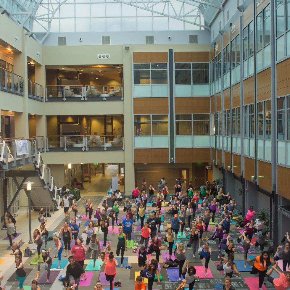 Free Community Yoga at Wake Forest Innovation Quarter, Winston-Salem