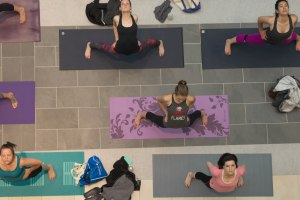 Free Community Yoga at Wake Forest Innovation Quarter, Winston-Salem, Townies Winston-Salem events