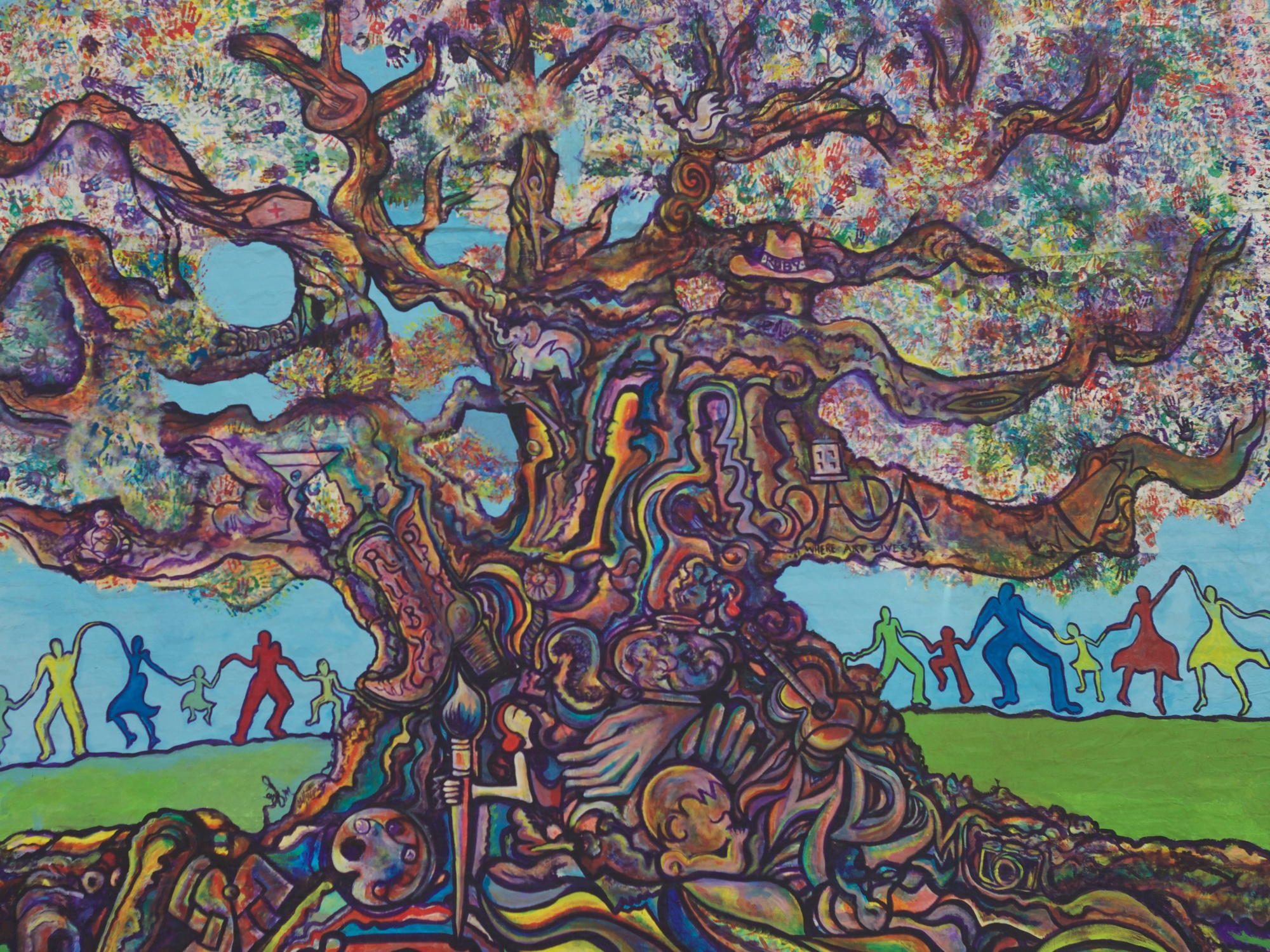 Tree of Life Mural Winston-Salem