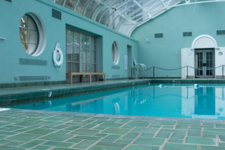 Pool House at Reynolda House Museum of American Art