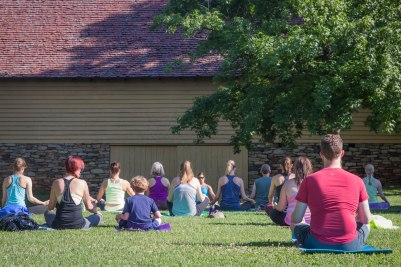Yoga by the Barn Old Salem