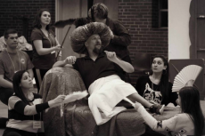 Scenes from rehearsal by Piedmont Opera