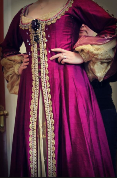 Scenes from costume fitting by Piedmont Opera