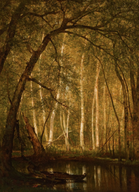 Worthington Whittredge, The Old Hunting Grounds, 1864 | (c) Reynolda House Museum of American Art